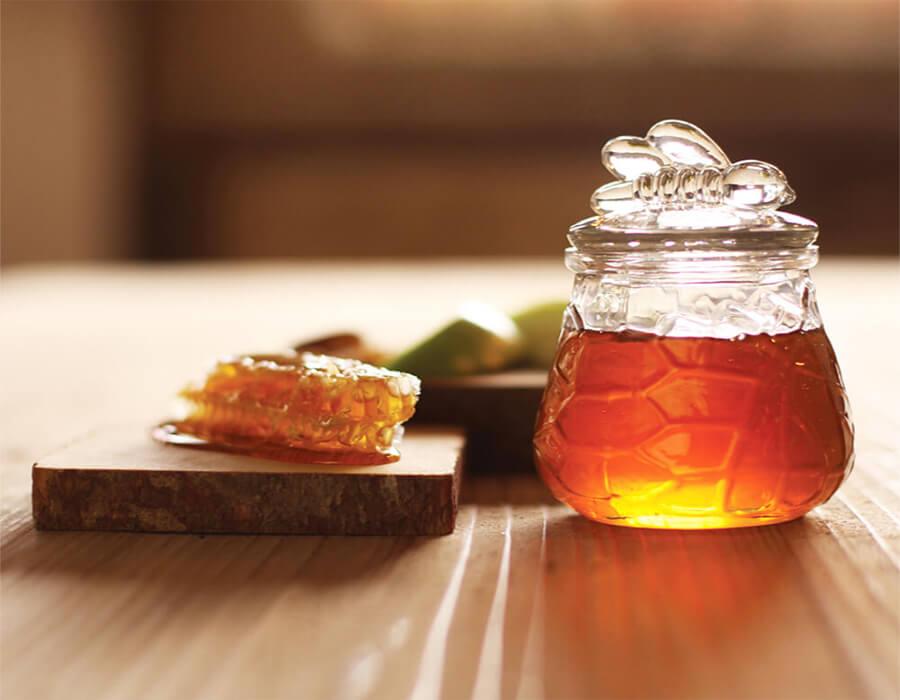 honey-comb-jar