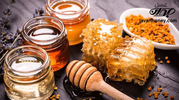 گياه درماني با عسل