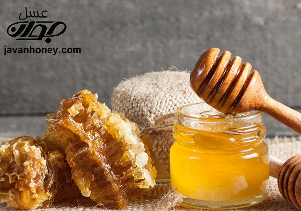 درمان تب با عسل